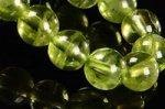 【格安美品】【8月誕生石】◎透明度が高い◎高品質小サイズペリドットブレスレット5mm-8 ★ミニブレス★
