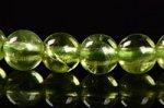 【格安美品】【8月誕生石】◎透明度が高い◎高品質小サイズペリドットブレスレット5mm-9 ★プレミアム★