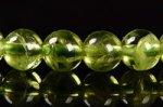 【格安美品】【8月誕生石】◎透明度が高い◎高品質小サイズペリドットブレスレット5mm-12