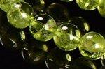 【格安美品】【8月誕生石】◎透明度が高い◎高品質小サイズペリドットブレスレット5mm-27