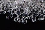 夏に最適!☆きらきら!☆ミニサイズ☆ハーキマーダイヤモンド(天然水晶)原石ルースタンブル詰め合わせセット(約9.5−10g入り)
