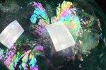 【レインボー入り天然石大玉】★在庫中最高級品★透明度が高い★美しい虹入り★プレミアム品質フローライト大玉置物70mm-31