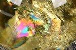 【レインボー入り天然石大玉】★財運アップ★【照射処理済み】【格安タイプ】レインボー入りシトリン大玉置物48.2mm-17