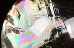 【レインボー入り天然石大玉】★財運アップ★【照射処理済み】【格安タイプ】レインボー入りシトリン大玉置物61.3mm-19