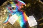 【レインボー入り天然石大玉】★財運アップ★【照射処理済み】【格安タイプ】レインボー入りシトリン大玉置物61.7mm-20