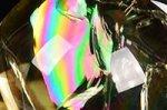 【レインボー入り天然石大玉】【財運アップ】★透明度抜群★夢幻的なレインボー入り★トップクォリティレインボー入りシトリン大玉置物43.3mm-30