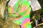 【レインボー入り天然石大玉】【財運アップ】★透明度抜群★夢幻的なレインボー入り★トップクォリティレインボー入りシトリン大玉置物55.8mm-40