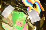 【レインボー入り天然石大玉】【財運アップ】★透明度抜群★夢幻的なレインボー入り★トップクォリティレインボー入りシトリン大玉置物62.3mm-42