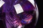 【レインボー入り天然石大玉】【愛の守護石】★希少★【トップクォリティ】レインボー入りウルグアイ産アメジスト大玉43.4mm-57