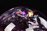 【レインボー入り天然石大玉】【愛の守護石】★希少★【トップクォリティ】レインボー入りウルグアイ産アメジスト大玉45.5mm-65