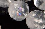 ☆激安!グラム40円☆◎一部の玉に層状ファントム入り◎ホワイトガーデンファントムクォーツブレスレット約10.5mm-55