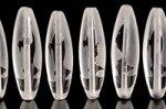 ☆合成水晶製☆観音天珠☆浮彫加工☆チベット天珠長さ約38mm-2
