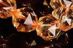【財運アップ】【極上品質】☆キラキラ煌く☆色が均一的でクラック少なし☆シトリンスターカット入りブレスレット8mm前後