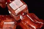【店長一押し商品】☆天然の芸術品☆キューブ型カット☆タンザニア産ライモナイトキューブ型デザインブレスレット-38