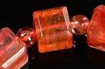 【店長一押し商品】☆天然の芸術品☆キューブ型カット☆タンザニア産ライモナイトキューブ型デザインブレスレット-39