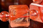 【店長一押し商品】☆天然の芸術品☆キューブ型カット☆タンザニア産ライモナイトキューブ型デザインブレスレット-45