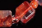 【店長一押し商品】☆天然の芸術品☆キューブ型カット☆タンザニア産ライモナイトキューブ型デザインブレスレット-50