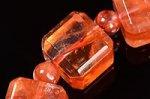 【店長一押し商品】☆天然の芸術品☆キューブ型カット☆タンザニア産ライモナイトキューブ型デザインブレスレット-54