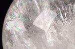 【最強縁起物】皇帝五爪龍手彫り☆虹に乗る昇龍☆ほとんど天然レインボー入り)☆迫力の最大80mmの超大玉あり☆五爪龍彫刻入り水晶大玉(台座無し)71.5mm-3