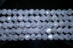 クラック水晶ハート8mm(約40cm)