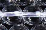 天然水晶丸玉10mmAグレード(約40cm)