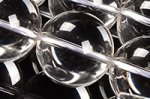 天然水晶丸玉16mmAAグレード(約40cm)