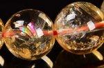 【財運・金運アップの石】☆激安★天然レインボー入り★シトリンブレスレット約11mm-11
