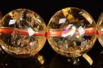 【財運・金運アップの石】☆激安★天然レインボー入り★シトリンブレスレット約11.5mm-16