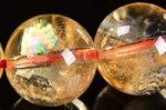 【財運・金運アップの石】☆激安★天然レインボー入り★シトリンブレスレット約12.5mm-19