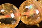 【財運・金運アップの石】☆激安★天然レインボー入り★シトリンブレスレット約13mm-20