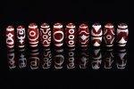 ★超激安セット★1個180円!赤瑪瑙ベース☆赤天珠詰め合わせセット(10個入り)-42
