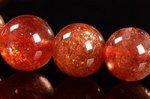 【太陽の石】☆激安お買い得☆サンストーンブレスレット約6-6.5mm-8