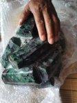 【リクエスト】天然石原石各種☆興味がある方お問い合わせください。-24(エメラルド原石13キロ ブラジル産)