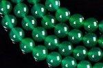 【天然石ビーズ1連】連長さ38cm前後 グリーンアゲート(染め)丸玉 ビーズ 6mmA