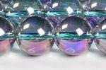 紫オーロラクォーツ丸玉ビーズ12mmA