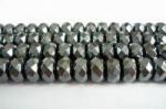 ヘマタイトボタン型カット5.5*9.5mm