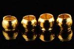 つぶし玉 2mm(ゴールド色)(10000個入り)