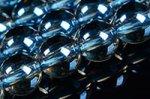 オーロラクォーツ(ブルー)丸玉ビーズ6mm