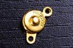 高品質★カッパー製★ニューホック☆10個セット 直径7mm前後 【ゴールド色】