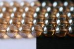 シャンパン色オーロラ水晶丸玉ビーズ10mm(type2)