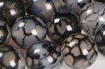 黒龍紋瑪瑙(ドラゴンアゲート)丸玉ビーズ10mm