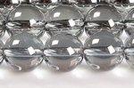 シルバーオーロラ水晶丸玉ビーズ(クリアタイプ)8mm