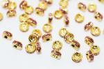 4mmゴールド平 ロンデル−1【ピンク】