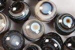 天眼石丸玉ビーズ16mm
