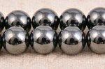 ヘマタイト(磁性あり)丸玉ビーズ8mm
