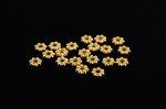 花形 スペーサーロンデル(ゴールド鍍金)6mm1000個セット