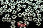 花形 スペーサーロンデル(合金鍍金)4mm1000個セット