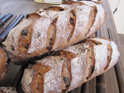 自家製天然酵母フルーツパン くるみと3種のレーズン