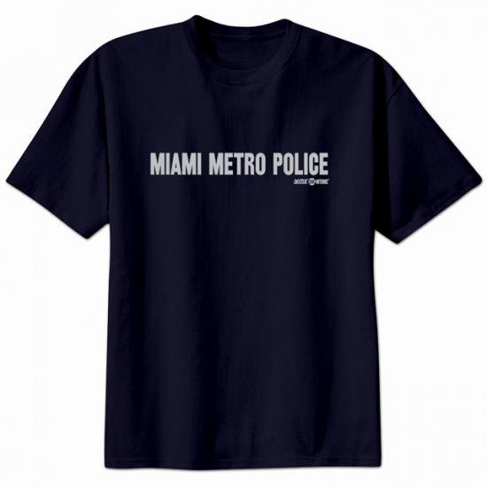 DEXTER/Miami Metro Police Tシャツ【お取り寄せ(通常20日程度)】 - 海外ドラマグッズ専門店 DramaStore