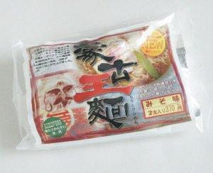 蒙古王麺 味噌味